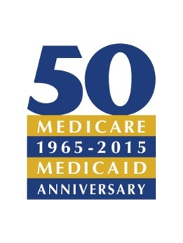 Medicare 50th anniversary logo