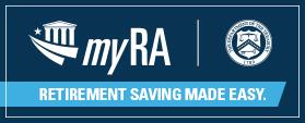 myRA treasury sign