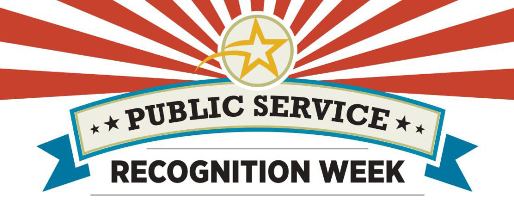 Public Service Recognition Week Banner