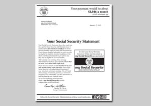 Have You Ever Received A Social Security Statement In The Mail Know One That Shows All Earnings Youve Had Each Year And How Much Could
