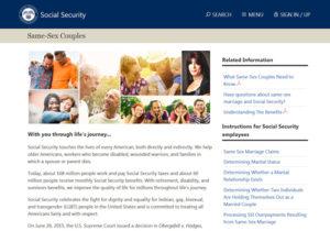 Same-sex-webpage