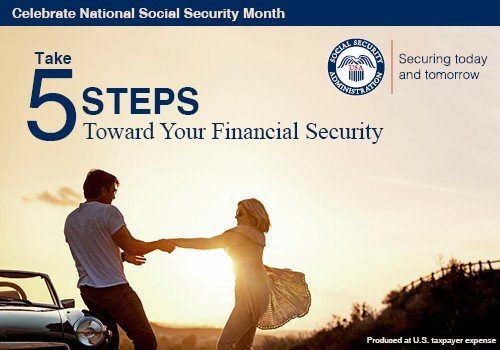 5 steps towards financial future april is national social security