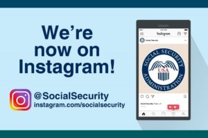 social security Instagram account image