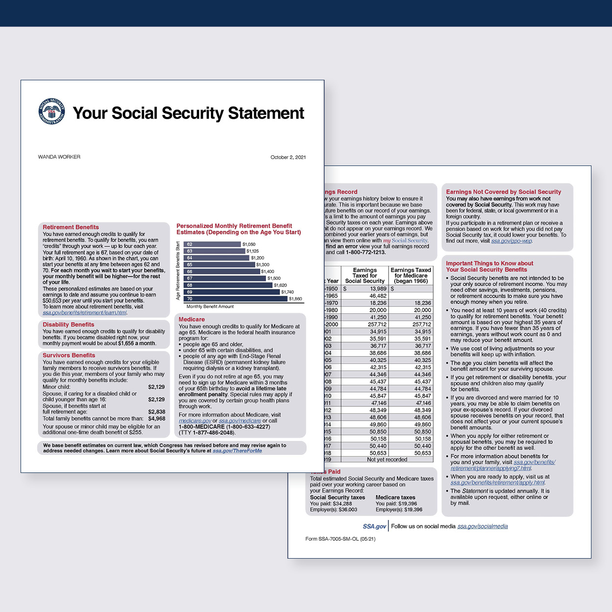 Your Social Security Statement
